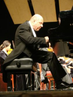Performing the Beethoven in Changsha, China