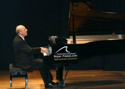 Performing in Madrid, Spain