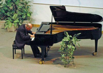 Performing in Kandern, Germany